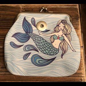 Interchangeable Mermaid Snap Coin Purse 18mm